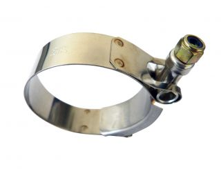 Stainless Steel T Bolt Clamps for Turbo Piping Hoses Pipe