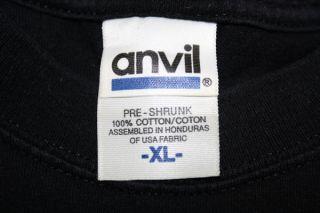 Clay Aiken Jukebox 2005 Pop American Idol Concert Tour Black T Shirt x
