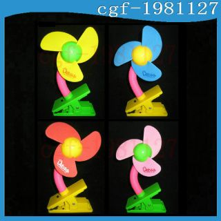 Mini Baby Sroller Jogger Safey Clip on Fan No LED 4