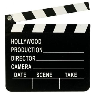 Clapperboard Hollywood Party Decoration Clapper Board Film Prop