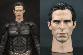 Christian Bale Head Bruce Wayne Batman Toys Iron Wolverine