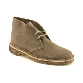 Clarks Originals Desert Boot Mens Size 10 Gray Distressed Leather