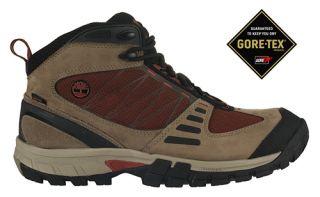 Timberland Mens Boots Radler Mid Hiker Gore Tex Tan 75141
