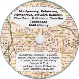 Montgomery County Tennessee History Clarksville TN