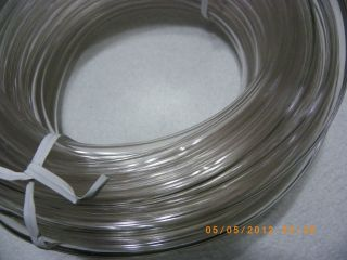 ROT1354 1/4 CLEAR FUEL LINE SALE IS FOR 5 FT., MOWERS,MOTOCYCLE,SMALL