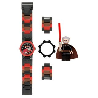 NEW Lego STAR WARS Clone Wars COUNT DOOKU WATCH with MiniFig LtSaber