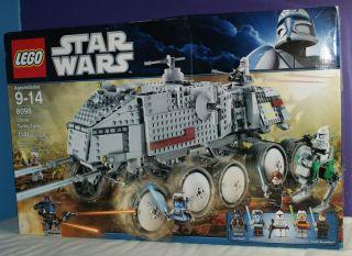 Lego Star Wars 8098 Clone Turbo Tank Minifigures