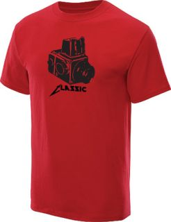Classic Camera T Shirt Vintage Camera Tee Red M