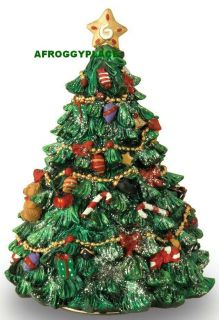 Revolving Musical Christmas Tree Plays Oh Tannenbaum New Music in Box