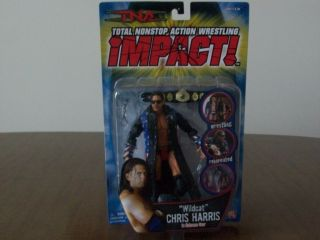 TNA Impact Series Superstar Wildcats Chris Harris WWE WCW AWA