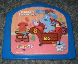Fisher Price Interactv DVD Blues Clues Numbers Everywhere