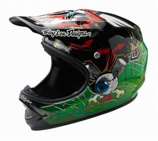 Troy Lee Designs D2 Composite   Chito Black/Green