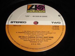 The Billy Cobham George Duke Band 12 LP Jazz Funk
