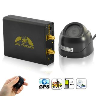 New Real Time Car Vehicle GPS GSM GPRS Tracker Alarm Tracking System