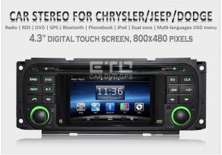 ETO Jeep Grand Cherokee Wrangler Liberty Car GPS Navigation Headunit
