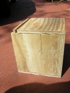 plywood nesting box large cockatiel