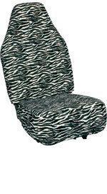 Chrysler PT Cruiser Zebra Velour Seat Covers