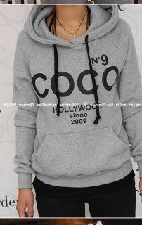 USD J23 Women Coco Hoodie Sweatshirt Tracksuits Outerwear Jacket Coat