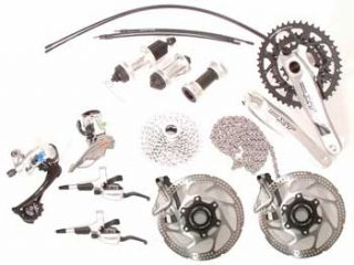 Shimano XT Groupset M760 with Disc Brakes