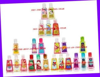 Bath Body Works PocketBac Anti Bacterial Hand Gel 1 FL oz Each