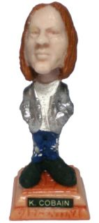 Kurt Cobain Mini Statue Resin Figure Nirvana Nevermind