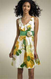 Teeze Me Floral Print Dress (Juniors)