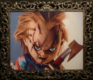 Haunted Horror Chucky Doll Photo Eyes Follow You
