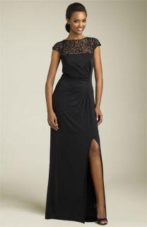 Tadashi Beaded Jersey Sheath Dress