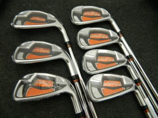 King Cobra Amp Iron Set 4 PW Steel Dynalite 90 Stiff Flex Irons