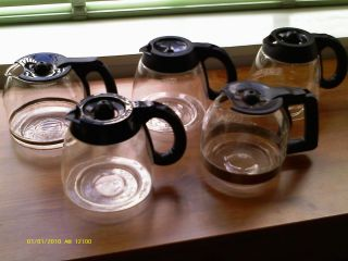 Mr Coffee replacement carafe decanter clean used most models MRX35