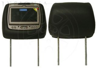 Dual Headrest DVD Player for 2008 2012 Buick Enclave Ebony Cloth