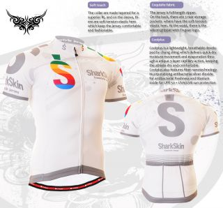Mens Bike Bicycle Shirt Shortsleeve Cycle Top Gear Cyclist Jersey s M