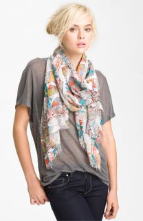 Raj Imports Feather & Birds Scarf