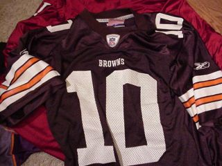 Kelly Holcomb Cleveland Browns Signed Jersey Men Medium