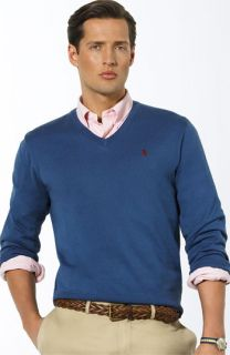 Polo Ralph Lauren Luxe V Neck Sweater