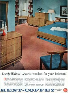 Lane Bedroom Furniture On Vintage Lane Perception Walnut Mid Century