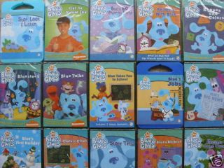 15 Lot Educational Assorted Blues Clues Brand New DVD