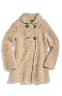 United Colors of Benetton Kids Sweater Coat (Little Girls)