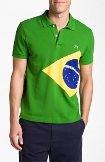 Lacoste United Kingdom Flag Piqué Polo