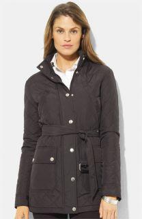 Lauren Ralph Lauren Belted Quilted Jacket