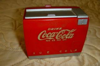 1950 Coca Cola Soda Pop Coke WIND UP KEY MUSIC BOX MACHINE NICE