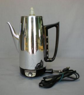 GENERAL ELECTRIC A2P15 COFFEE MAKER PERCOLATOR POT IMMERSIBLE 9 CUPS