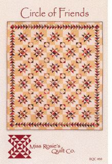 Miss Rosies Quilt Co Circle of Friends Quilt Pattern