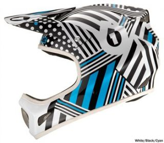 661 Evolution Full Face Helmet   Striped 2010