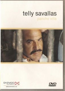 Pancho Villa Telly Savalas Clint Walker Connors New