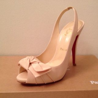 Christian Louboutin Lady Bow Pumps Authentic Brand New Never Worn