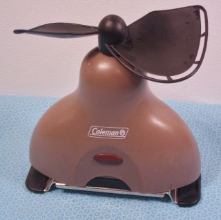 Coleman Portable Battery Operated New Tent etc Fan