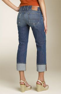 Lucky Brand Sweet Dream Cuff Rigid Crop Jeans (Ol Sutter)