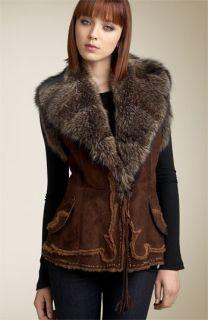 Rizal & Linea Selecta Pop Fur Collar Vest