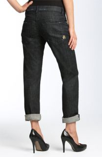 Rich & Skinny Stretch Boyfriend Jeans (Dark Beauty Wash)